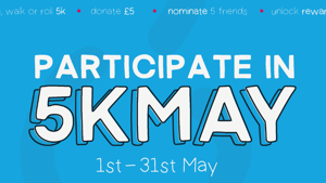 5K May: Get Active and Support WLZ this May!